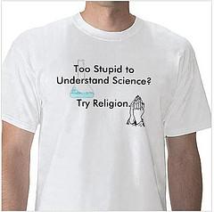 religion-science t-shirt via meg's blog