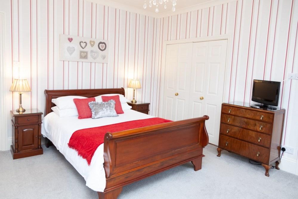 Bedroom at Magnolia Cottage