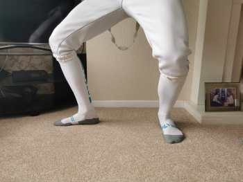 CMWFC Fencing Socks (Engarde Front)