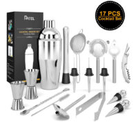 Cocktail-Set-Edelstahl-Cocktail-Mixing-Shaker-Set-Professionelles-Barzubehoer