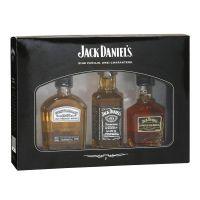 Jack-Daniels-eine-Familie-drei-Charaktere-Geschenkbox-Gentleman-Jack-Old-No7-Single-Barrel-50ml