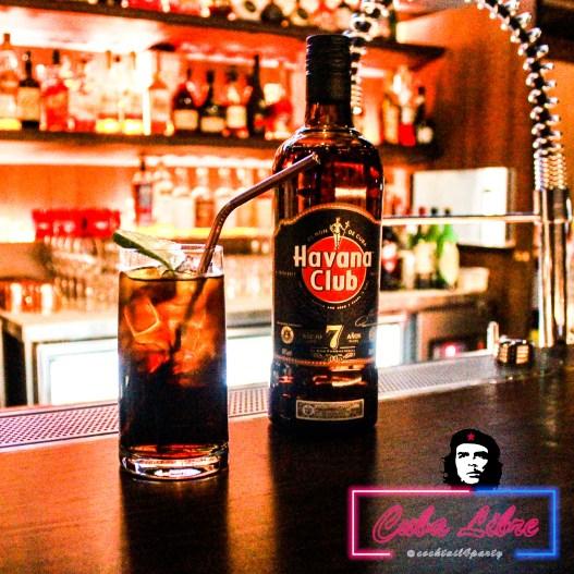 蘭姆酒調酒 Cuba Libre 自由古巴