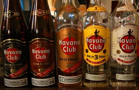 蘭姆酒品牌 - Havana club rum