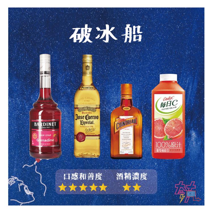 龍舌蘭調酒 - 破冰船