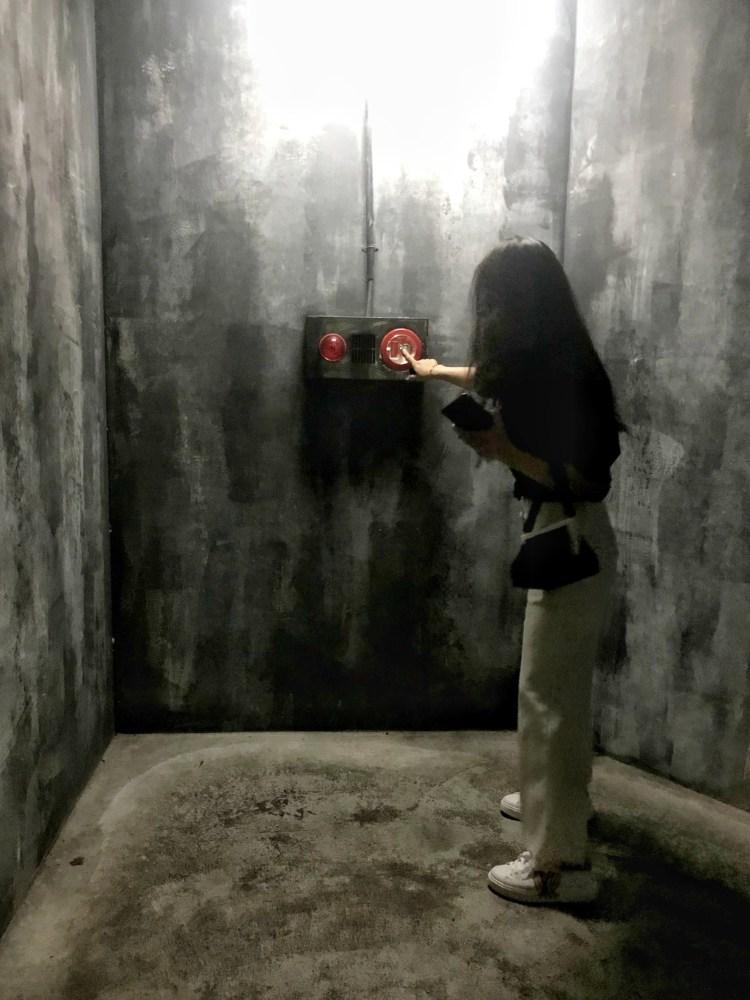 Bar Pun-入口 防火巷 火警警報器 按鈕
