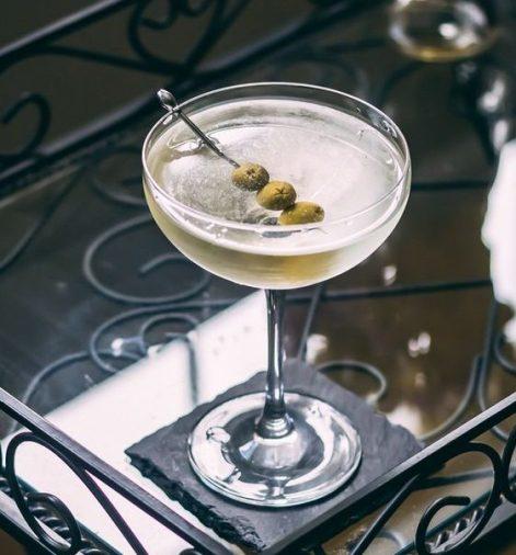 琴酒調酒 -髒馬丁尼