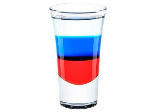 shot酒譜-俄羅斯國旗