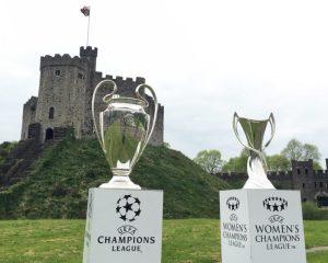 Cardiff UEFA Champions League Trophy