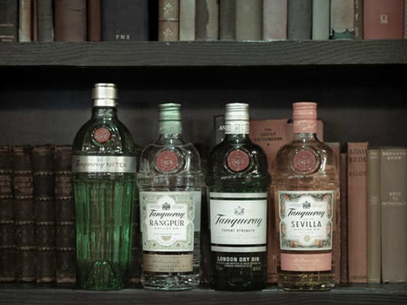 Gin Tasting Masterclass with Tanqueray