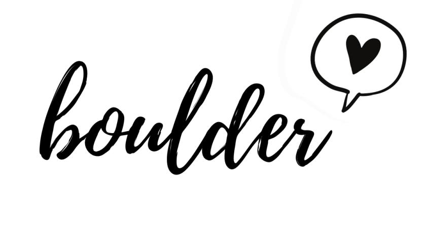 boulder love
