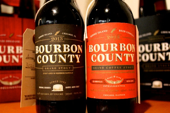 County Bourbon Stout Island Goose