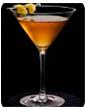 """Коктейль на основе водки """"Виноградный мартини"""""""