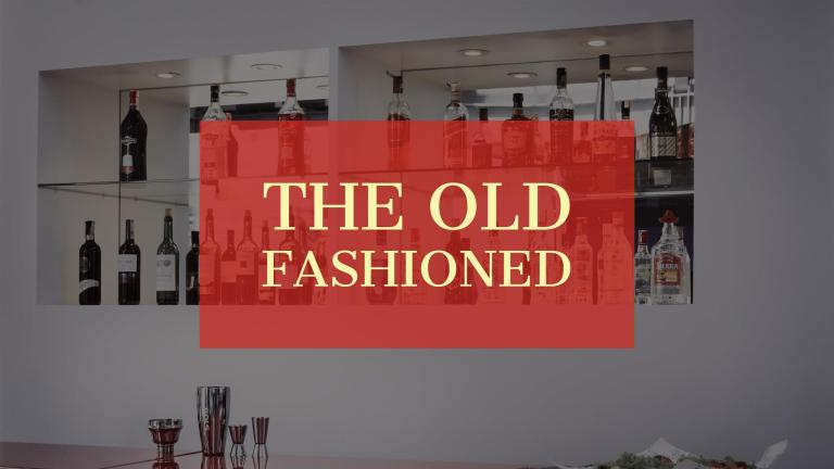 Old Fashioned - Classic Cocktail Recipes