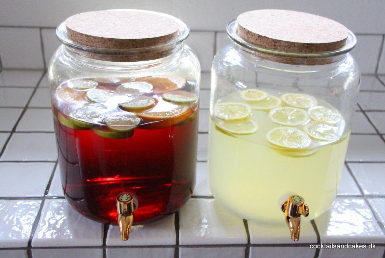 Cocktails på kander til nytårsaften