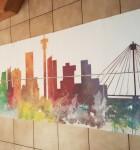 Team building Mural paintnig