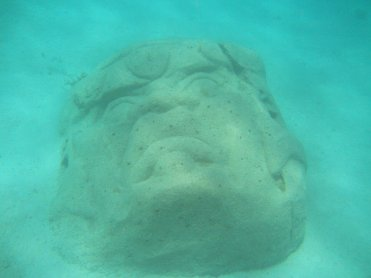 Photo courtesy of Mayatlantis Facebook Page: Olmec head