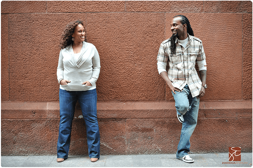 soho engagement photographer in new york city joshua dwain
