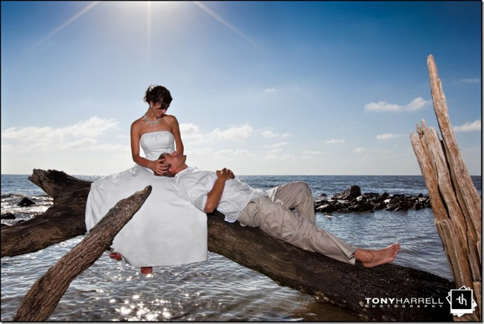 driftwood beach jekyll island wedding