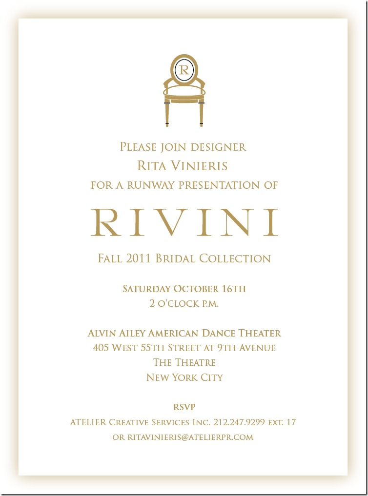 RIVINI-Bridal Show evite Oct.16th