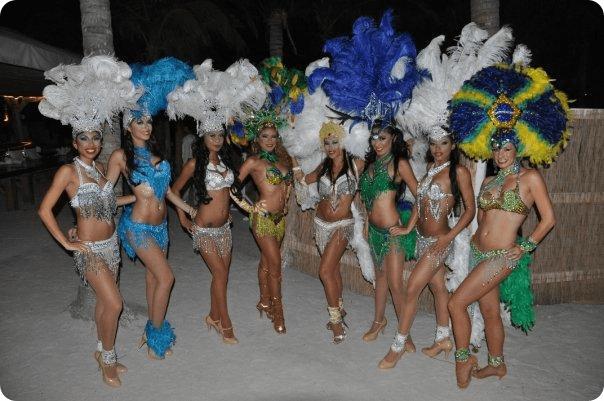 Brazilian Brasilian Carnival Dancers