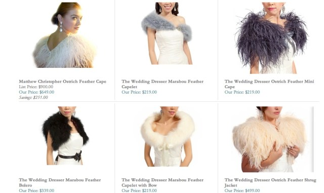 wedding shrugs for fall and winter weddings