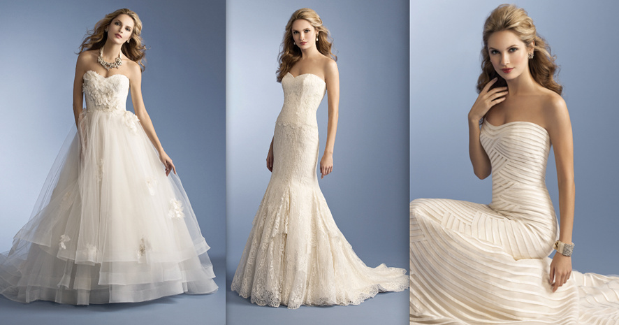 Anne Barge Fall 2012 Wedding Dress Gown Line