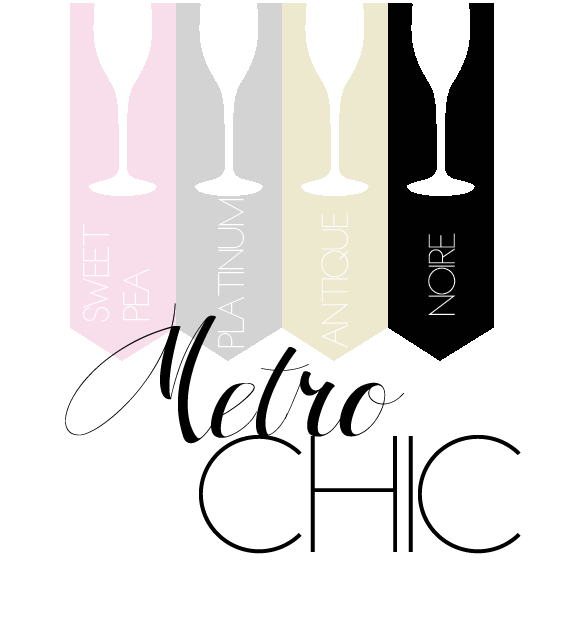 metrochic-sweetpea-platinum-antique-noire colors palette wedding colors