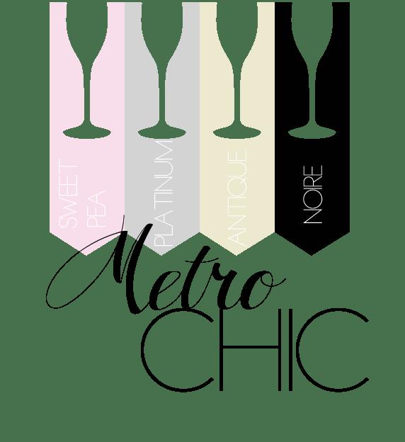 metrochic-sweetpea-platinum-antique-noire colors palette wedding colors