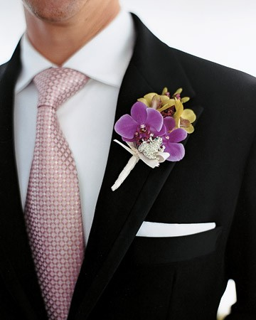 Boutonniere and Pocket Square