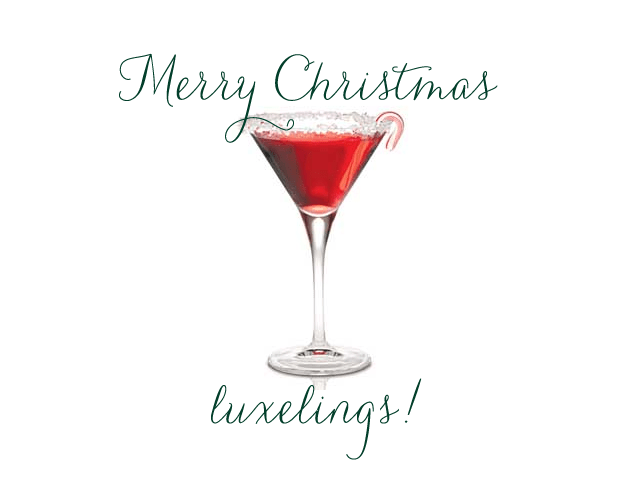 Merry Christmas Martini