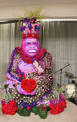 King Kong Floral Statue