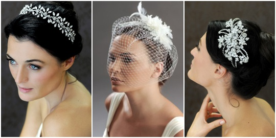 bridal headband headpiece