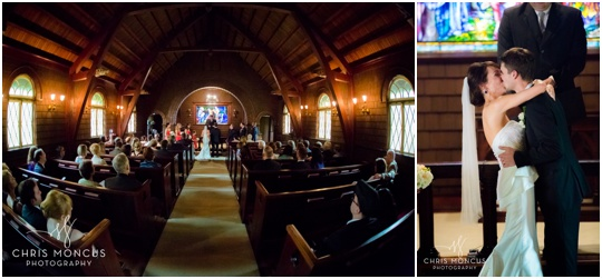 faith chapel wedding ceremony jekyll island