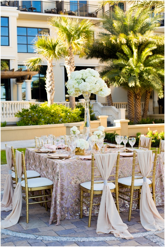 Westin Jekyll Island wedding ceremony reception