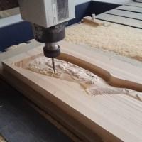 Amazing CNC machine, Making Rifle Stock