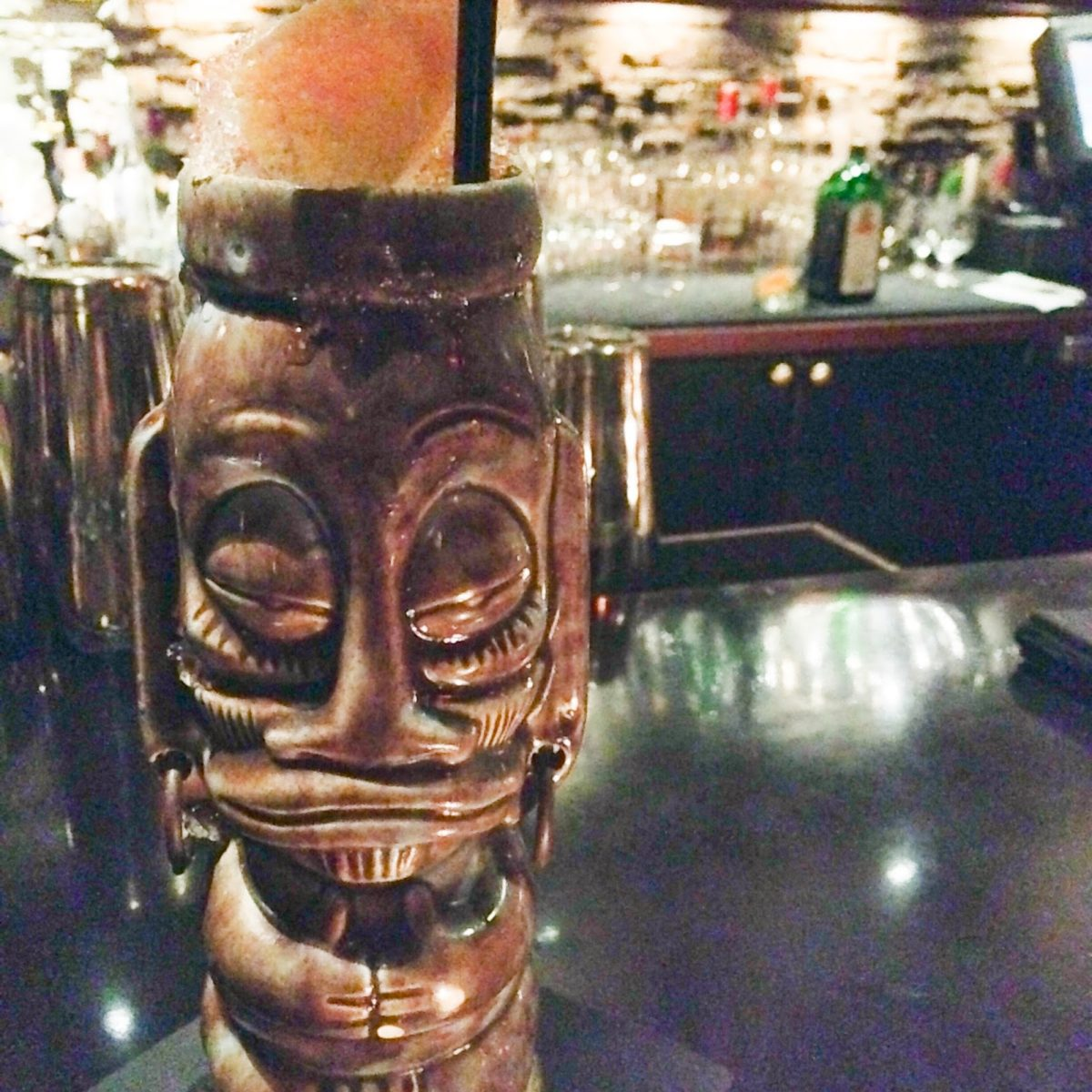 Bartender! There's Chile in my Tiki Drink (The Aztec Warrior)