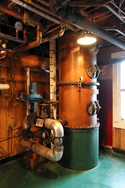 Maker's Mark distillery column still