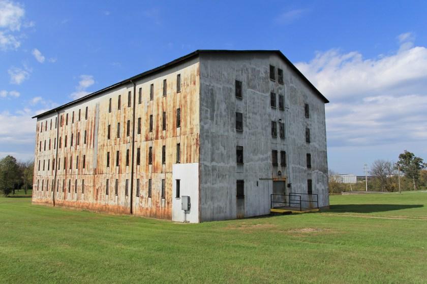 Willett rickhouse with distiller's mold