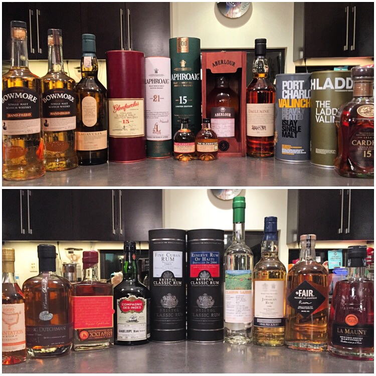 Liquor haul, UK and Amsterdam, 2016