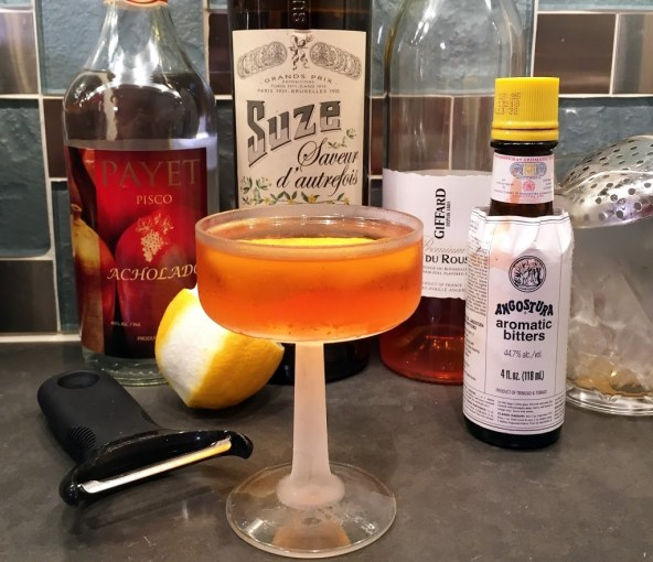 Cocktail Obsession: The Starboard (Pisco, Suze, and Apricot)