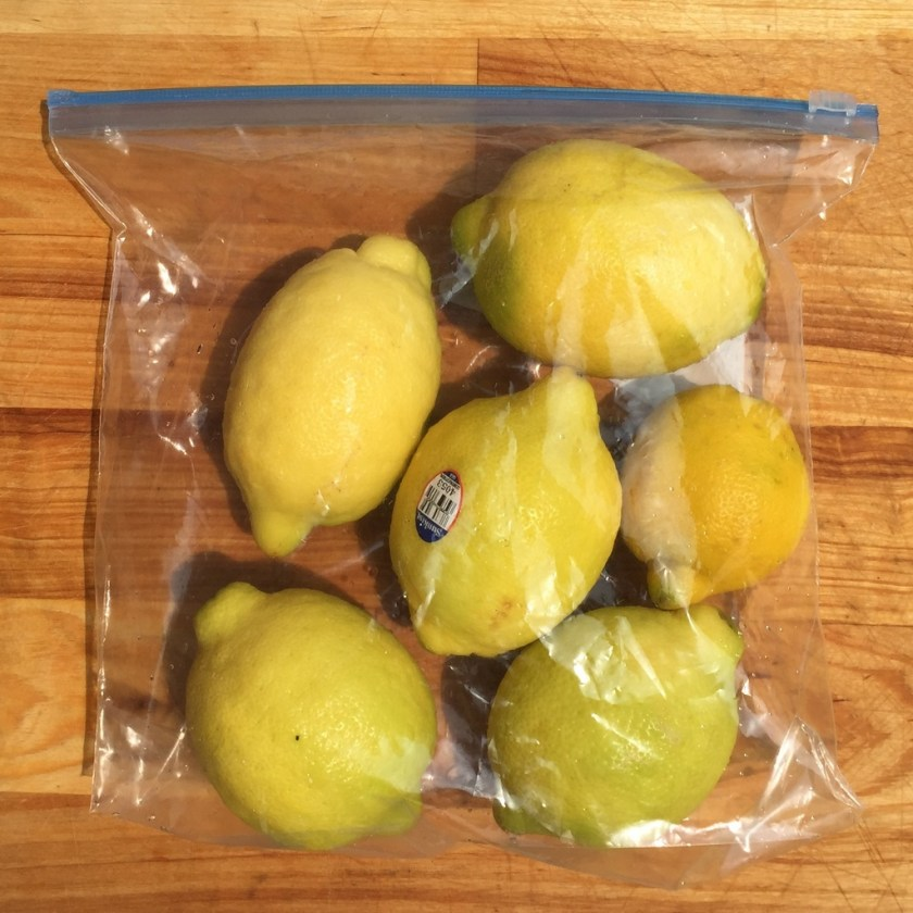 Keep your citrus fresh longer by using ziplock bags and storing in the refrigerator.