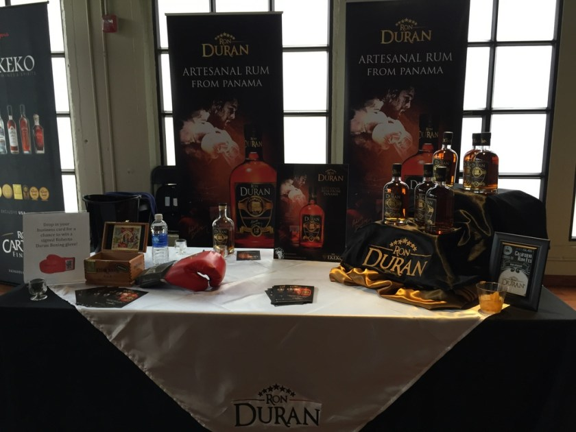 Ron Duran booth at California Rum Fest 2015