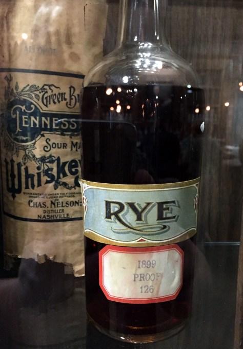 Bottle from original Nelson's Green Brier Distillery