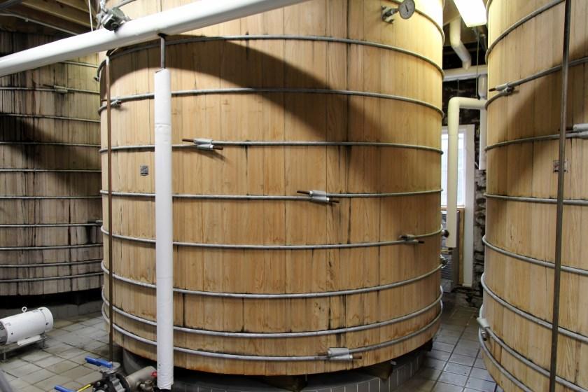 Woodford Reserve fermentation tank
