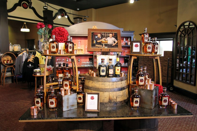 Four Roses distillery gift shop
