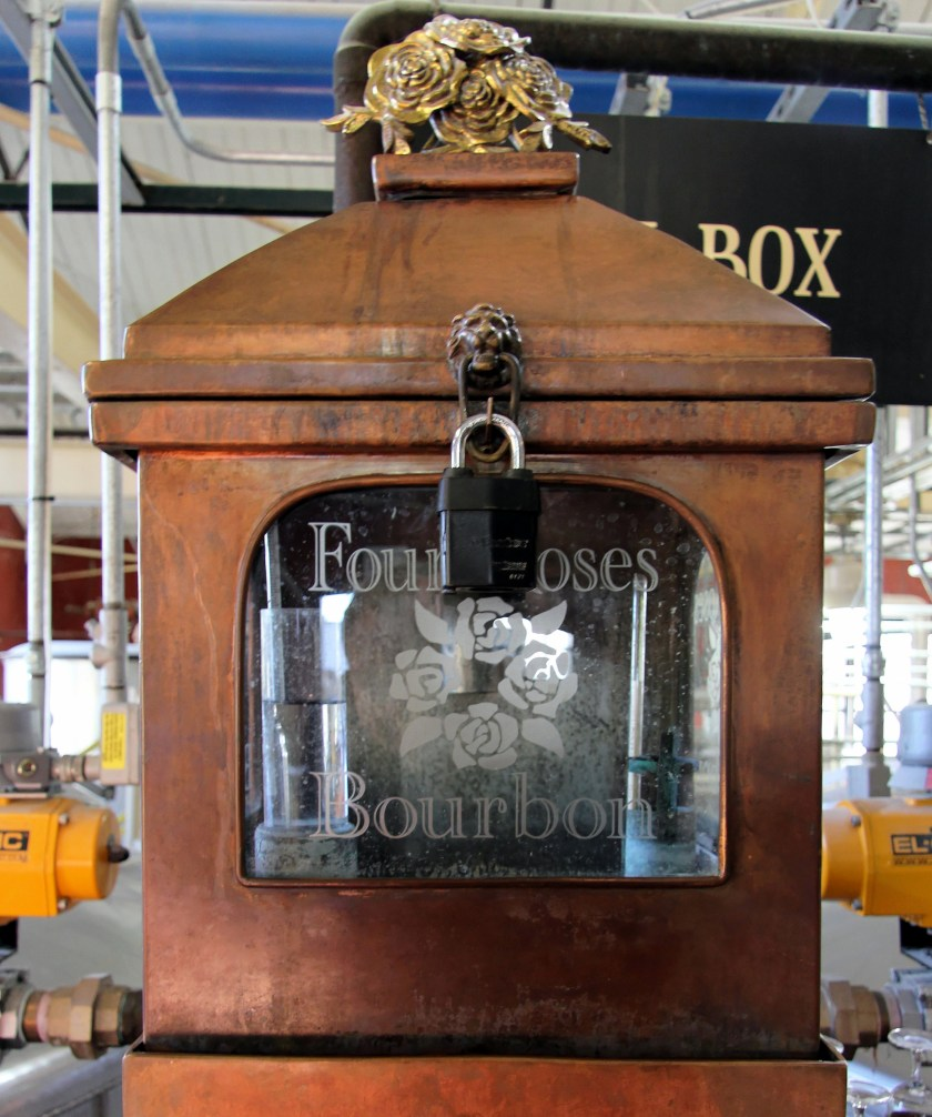 Four Roses distillery spirit safe