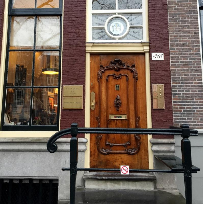 E & A Scheer building, in Amsterdam