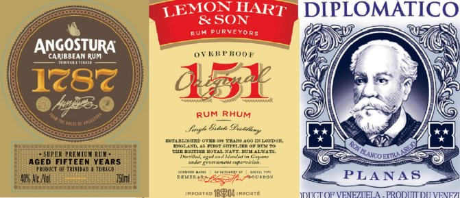 Stalking the TTB:  Upcoming U.S. rum releases from Lemon Hart, Angostura, Diplomatico, Mount Gay, Foursquare, and more!  January to April 2016