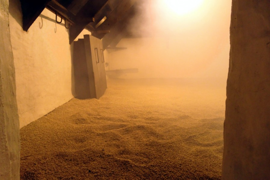 Smell the peat smoke at Laphroaig