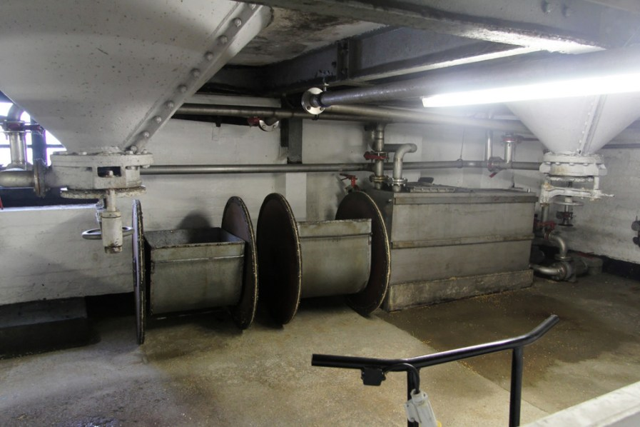 Malt barn tools at Bowmore